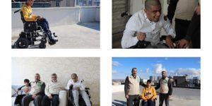 Diyarbakır Umut Kervanı, iki engellinin yüzünü güldürdü