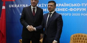 """Erdoğan: """"Ukrayna ile ticaret hacmimizi 10 milyar dolara çıkarmayı hedefliyoruz"""""""
