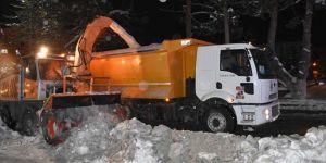 Tatvan Belediyesi 765 kamyon karı şehir dışına taşıdı