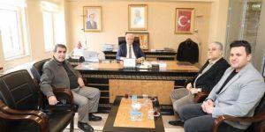 Mardin Artuklu Belediye Başkanı Tutaşı'dan Yeşilay'a destek