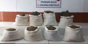 Diyarbakır'da PKK operasyonunda 151 kilogram esrar ele geçirildi