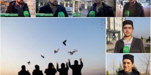 Hür Gençlik Diyarbakır'dan 3 farklı dilde Kudüs mitingine davet çağrısı