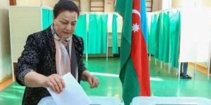 Azerbaycan, Milli Meclis üyelerini belirlemek için sandık başında