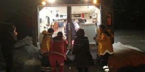 Karlıova'da sağlık ekipleri rahatsızlanan 2 kardeş için seferber oldu