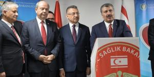Sağlık Bakanı Fahrettin Koca, Türkiye'nin KKTC'de 500 yataklı hastane yapacağını açıkladı