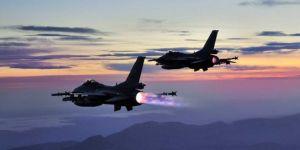 Hakurk bölgesine hava operasyonu: 8 PKK'li öldürüldü
