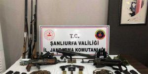 Şanlıurfa'da silah kaçakçılığı yapan 3 şüpheli gözaltına alındı