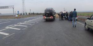 Diyarbakır Çınar'da otomobil ile kamyonetin çarpıştığı kazada 2 kişi yaralandı