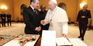Irak Kürdistan Yönetimi Başbakanı Barzani, Papa Francis'i Kürdistan'a davet etti