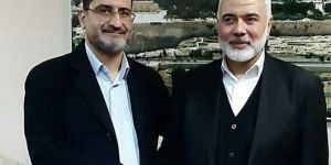 Deputy Chairman of İTTİHADUL ULEMA meets with Ismail Haniyeh