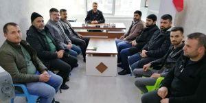 HÜDA PAR Kahta İlçe Teşkilatından Yeniden Refah Partisine ziyaret