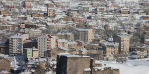 Bitlis'te kar yağışı yeniden etkili olmaya başladı