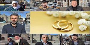 Diyarbakırlı vatandaşlar: Gençlerin evliliğinin önündeki engelleri kaldırmalıyız