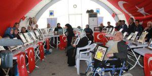 108 ailenin evlat nöbeti 184'üncü gününde devam ediyor