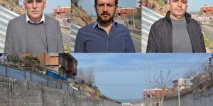 Diyarbakır'da 5 yıl önce yıkılan istinat duvarının yerine yenisi yapılmadı
