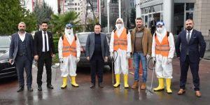 Bağlar Belediyesi, Corona virüs için özel ekip kurdu