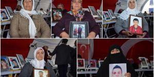 HDP Diyarbakır İl Binası önündeki evlat nöbetine 5 aile daha katıldı