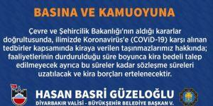 Diyarbakır Valisi Güzeloğlu'ndan, Corona virüse karşı alınan tedbirler hakkında açıklama