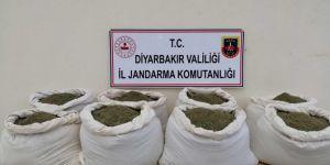 Kocaköy'de 322 kilogram esrar ele geçirildi