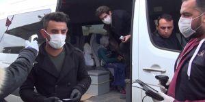 Adıyaman'da şehre giriş noktalarında Coronaviruse karşı tedbirler artırıldı