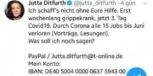 Alman Yeşiller Partisi Eski Genel Başkanlarından Ditfurth, Coronaviruse yakalandı