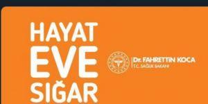 Coronavirus ile mücadele için başlatılan 'Hayat Eve Sığar' kampanyasına destek artıyor