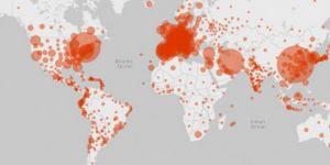 Küresel Coronavirus vakaları 600 bine yaklaştı
