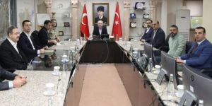 Mardin İl Pandemi Kurulu Toplantısı yapıldı
