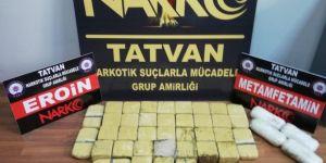 Bitlis'te 22 kilo uyuşturucu ele geçirildi