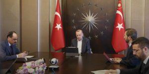 Cumhurbaşkanı Erdoğan, MİT Başkanı Fidan ile görüştü
