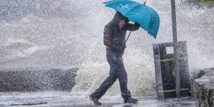 Meteorolojiden bazı iller için kuvvetli yağış ve fırtına uyarısı