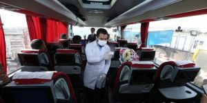 Gaziantep'te seyahat kısıtlamasına uymayan yolculara para cezası verildi