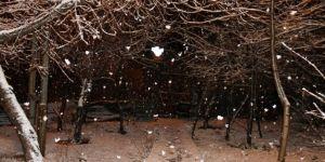 Bitlis'te yoğun kar yağışı başladı