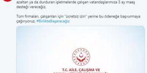 Maliye Bakanı Albayarak: Ücretsiz izin yerine, kısa çalışma ödeneği çağrısı