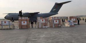 Türkiye'den İtalya ve İspanya'ya yardım malzemesi gönderildi