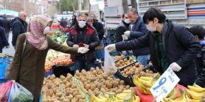 Coronavirus tedbirleri kapsamında pazar yerlerinde ilave tedbirler alınacak
