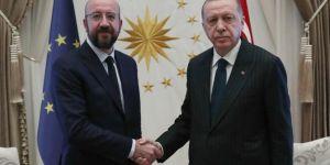 Erdoğan, Michel talk over the phone
