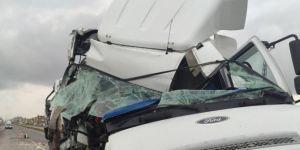 Mardin İpekyolu'nda trafik kazası: 1 yaralı