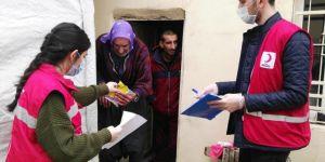 Şanlıurfa'da bir günde 654 kişiye hizmet ulaştırdı