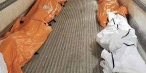 ABD'de cesetler sokaklardan paletlerle toplanıyor