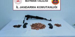 Batman'da silah kaçakçılığı yaptığı iddiasıyla 1 şüpheli yakalandı
