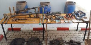 Bitlis'te tespit edilen sığınaklarda silah ve mühimmat ele geçirildi