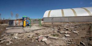 Van Karşıyaka Parkı tahrip edildi