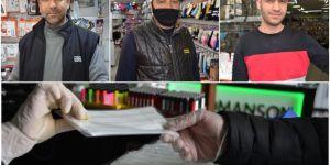 Diyarbakır esnafı, satışı yasaklanan ellerindeki maskeler için devletten çözüm bekliyor