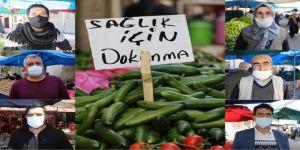 Diyarbakırlılar yasağın erkenden duyurulmasından dolayı alışverişini rahat yapıyor