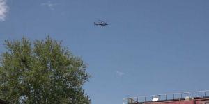 Diyarbakır'da sokağa çıkma yasağı helikopterle denetleniyor
