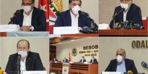 Diyarbakır'daki meslek örgüt temsilcilerinden kamu kurumlarına teşekkür açıklaması