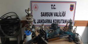 Samsun'da 3 hırsızlık şüphelisi yakalandı
