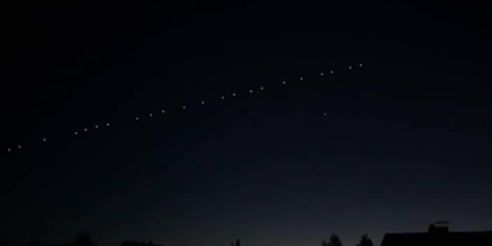 Gökyüzünde görülen esrarengiz ışıklar