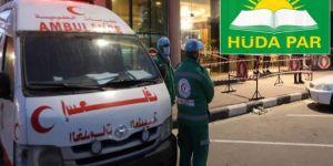 """Sağlam: """"Salgının Gazze'de yayılmasına göz yumulması insanlık suçudur"""""""
